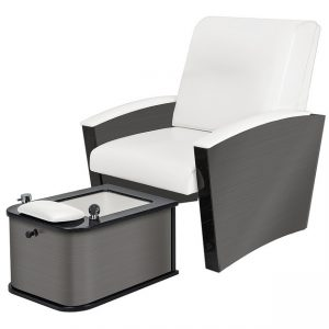 Mystia™ Manicure / Pedicure Chair with Plumbed Footbath