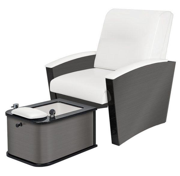 Mystia™ Manicure / Pedicure Chair with Plumbed Footbath