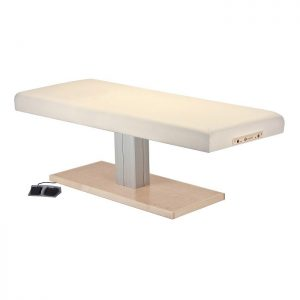 Everest Spa Salon Single Pedestal Electric Lift Table