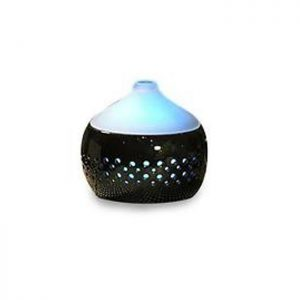 Spa Pro Black Ceramic Diffuser with Frosted Top