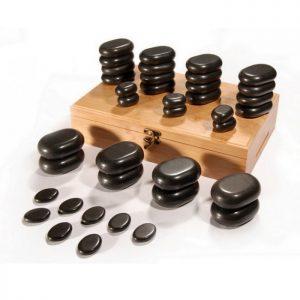 36 Piece Stone Massage Set
