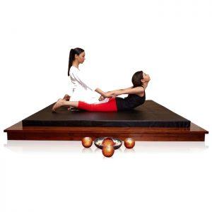 Thai Massage Bed with Solidwood Platform