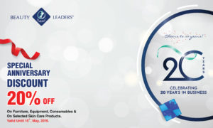 Special Anniversary Discount 20% Off
